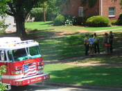 Greenville Police, Fire and Rescue on Scene in Lewis Village Condos