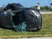 wreck at exit 86 south I-49