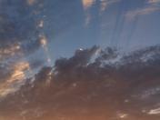 more streaks in sunset