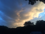 storm closing in.