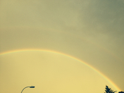 double rainbow  -apollene