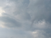 Spotted funnel cloud in Lexington,  ma