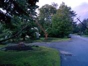 Damage in Chelmsford around 6pm