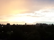 Unstable weather... view from the balcony