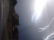 lightening in New Mexico skies