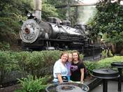 Riding in the rain at Dollywood