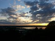 Sunset on Munjoy Hill