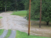 Flooding in Bruin, PA