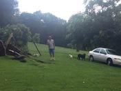Dunbar township storm