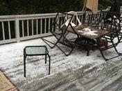 Hail storm Dennis port, MA