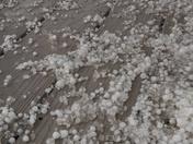 pea size hail