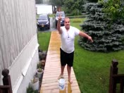 Ice Bucket Challenge (with rain)