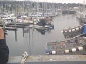 Monterey harbor burned boat