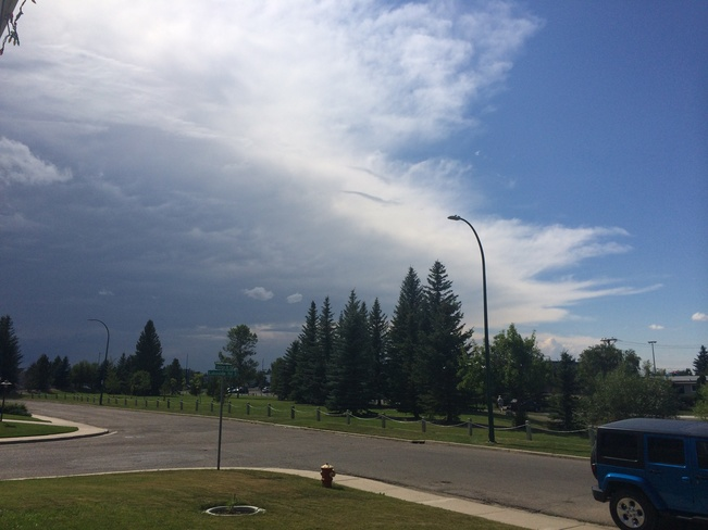 here it comes Lethbridge, Alberta Canada
