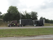 Truck Carrying Glass Loses Load On US 169 Highway