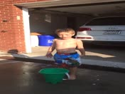 4 year old ALS Ice Bucket Challenge