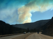 fire near truckee