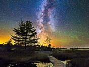 Midnight Walkway