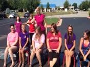 ALS ice bucket school challenge