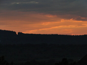 sunset/clouds, 8/29/2014