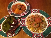 Chile meat balls