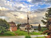 Evening sky over Jeannette