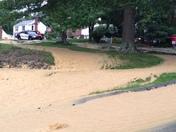 Water main break in Bethel Park