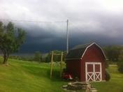 Stormy day - Kristin