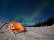 2b. Ghost aurora borealis