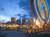 2c. Distracting carnival lights