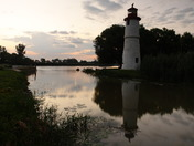 Historic Lighthouse, Thames River