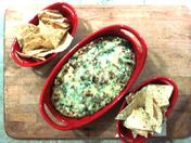 Green Chile, Spinach, and Artichoke Dip