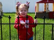 Mackenzie, my little Husker