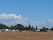 king fire from 24th st in rio linda
