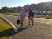 Two Marines Are Marching to Washington with a Message for Obama
