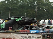 Rochester fair Demolition Derby 9/21/14