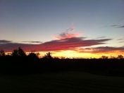 Gorgeous sunrise in Stillwater, we definitely have some of the best here! C. Kis