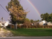 Double rainbow in Coon Rapids