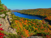 Fall Color in the Porcupines