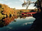 Taftsville Covered Bridge, Woodstock Vermont
