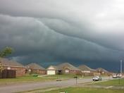 wall cloud near centerton