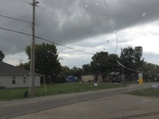 Wall cloud in Rogers at 3pm on Oct. 1, 2014