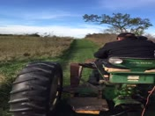 Hayrack ride on the farm