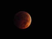 Lunar eclipse 10/8/14