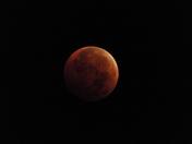 Lunar eclipse 10/8/14