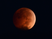 The Blood Moon on October 8, 2014
