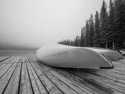 White dock