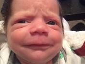 Bentleys poop face