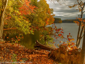 Liberty Reservoir Fall Foliage
