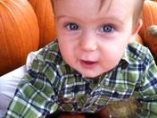 Carter's 1st pumpkin patch trip